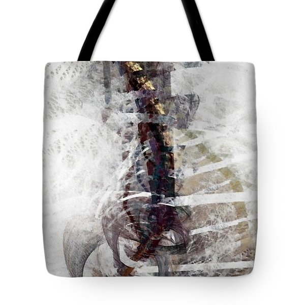 Breaking Bones Tote Bag