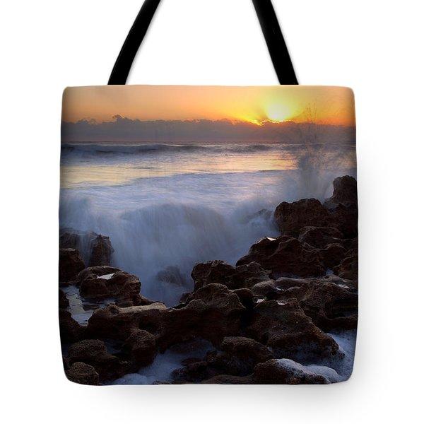 Breaking Dawn Tote Bag by Mike  Dawson