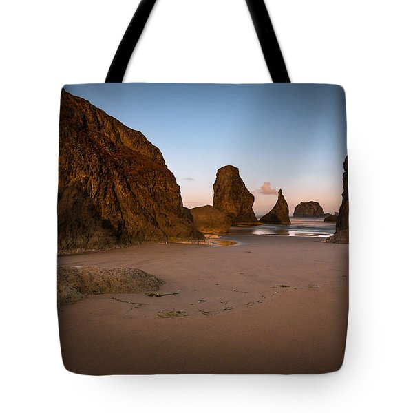 Breaking Light In Bandon Tote Bag