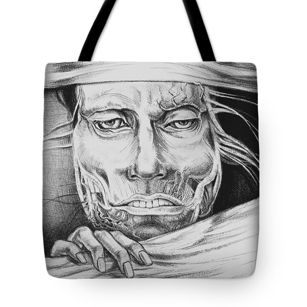 Breaking Out Tote Bag