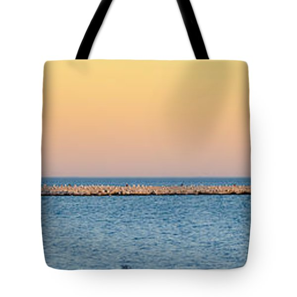Breaking The Sunset Tote Bag