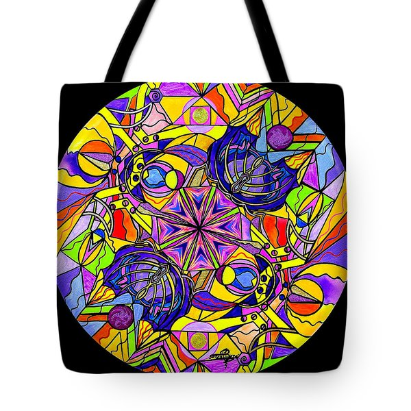 Breaking Through Barriers Tote Bag