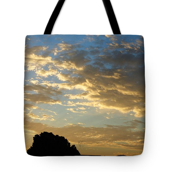 Breaking Through Tote Bag by Glenn McCarthy Art and Photography