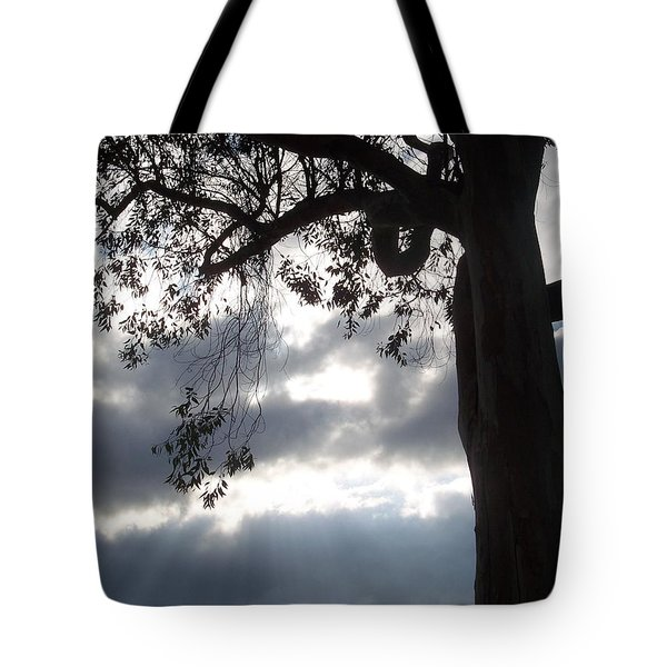 Breaking Through Tote Bag