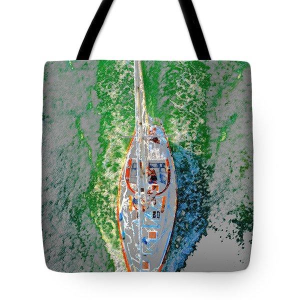Breaking Water Tote Bag by David Lee Thompson