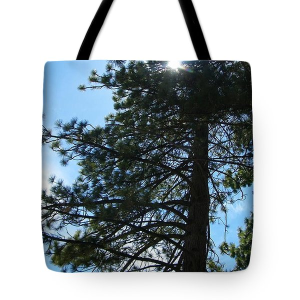 Tote Bag featuring the photograph Breakthrough by Bobbee Rickard