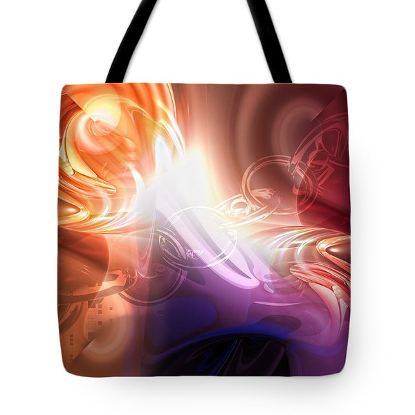 Breakthrough Tote Bag by Mo T