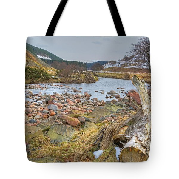 Breamish Valley Landscape Tote Bag by David Birchall