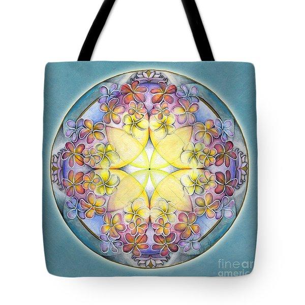 Breath Of Life Mandala Tote Bag
