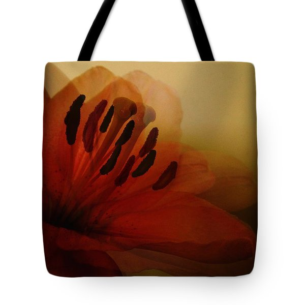 Breath Of The Lily Tote Bag