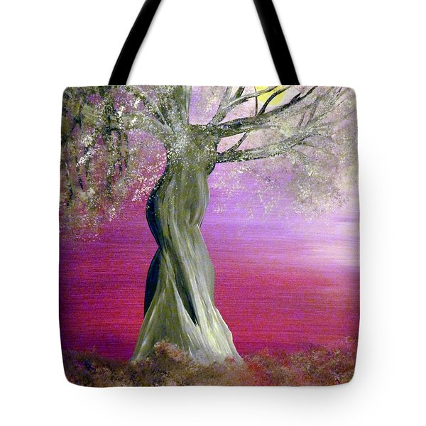 Breath Of Winter 1 Tote Bag by Alys Caviness-Gober