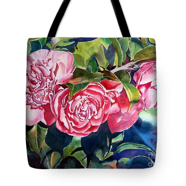 Breathtaking Blossoms Tote Bag by Mohamed Hirji