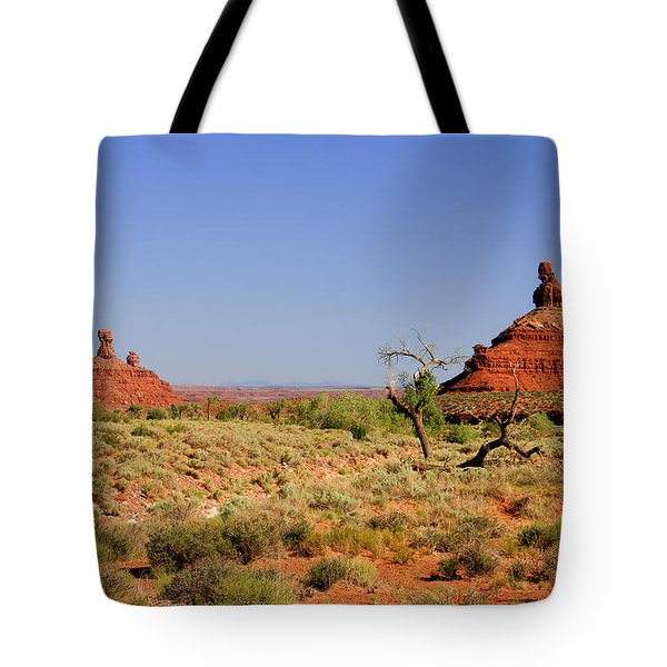 Breathtaking Valley Of The Gods Tote Bag by Christine Till