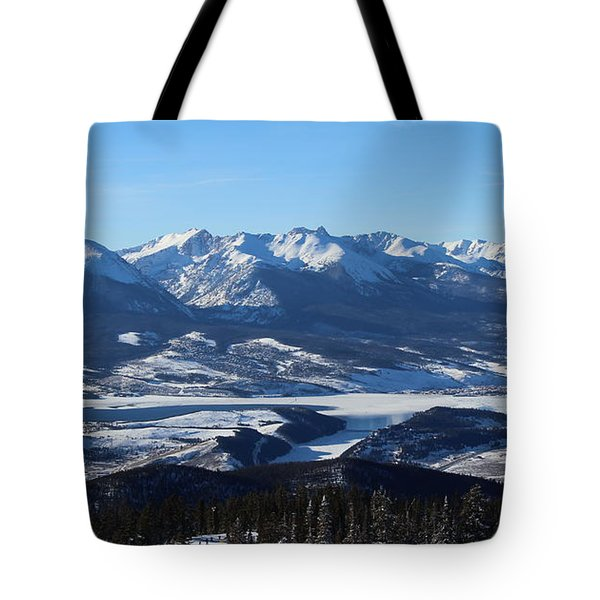 Breathtaking View Tote Bag by Fiona Kennard