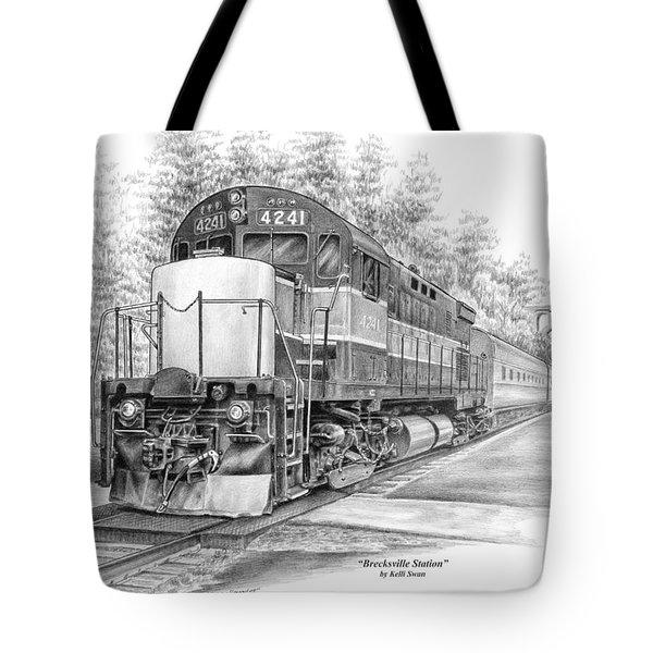 Brecksville Station - Cuyahoga Valley National Park Tote Bag
