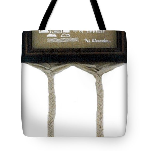 Tote Bag featuring the painting Breeze by Fei A