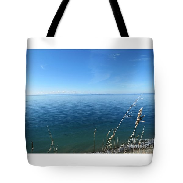 Breeze In Blue Tote Bag