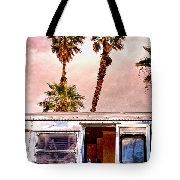 Breezy Palm Springs Tote Bag by William Dey