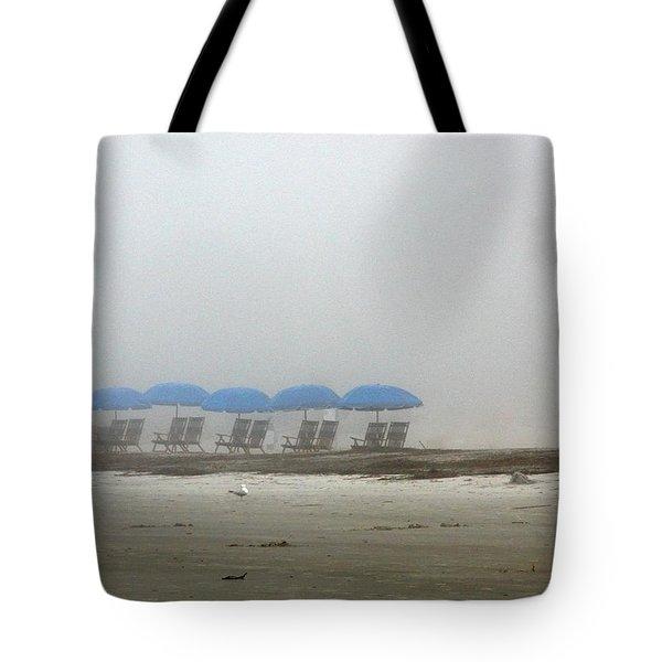 'brella Pattern Tote Bag