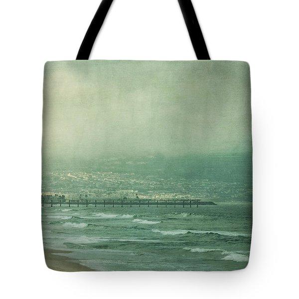 Brewing Storm Tote Bag by Kim Hojnacki