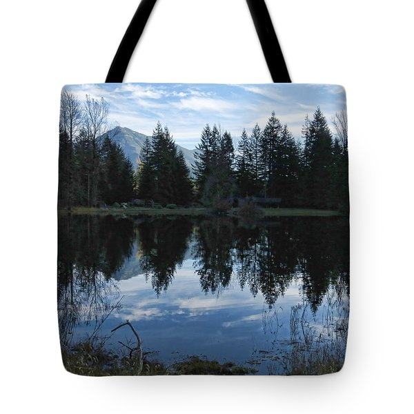 Brewster Lake North Bend Wa Tote Bag