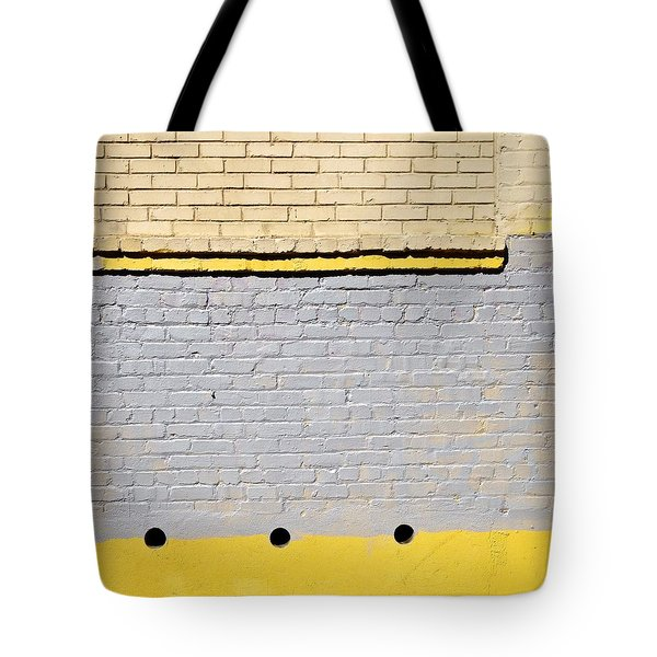Brick Abstract Tote Bag