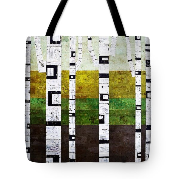 Brick Birches - Summer Tote Bag