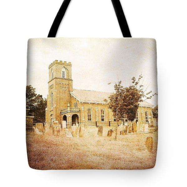 Brick Church In Montgomery Tote Bag