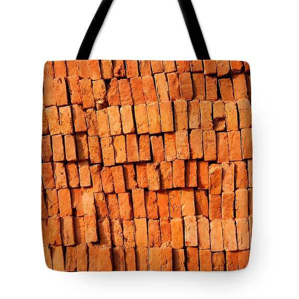 Brick Stack Tote Bag