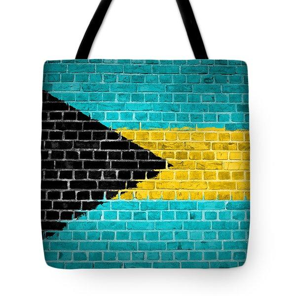 Brick Wall Bahamas Tote Bag
