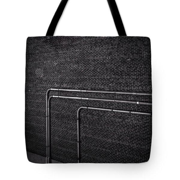Brick Wall Tote Bag by Bob Orsillo