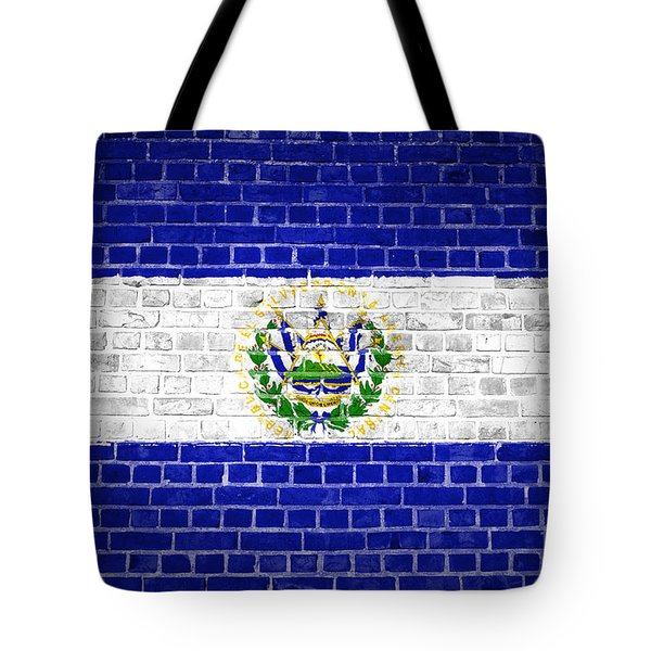 Brick Wall El Salvador Tote Bag