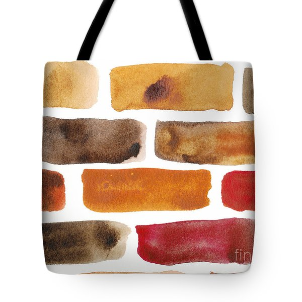 Brick Wall Tote Bag by Kerstin Ivarsson