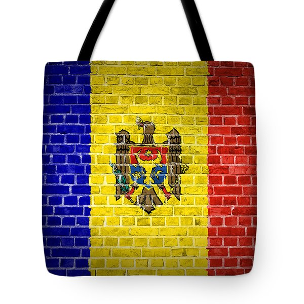 Brick Wall Moldova Tote Bag