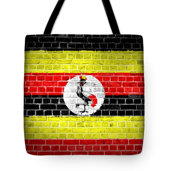 Brick Wall Uganda Tote Bag