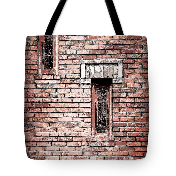 Brick Work Tote Bag by Melanie Lankford Photography