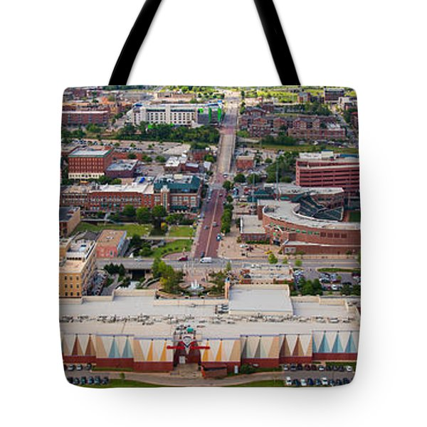 Bricktown Ballpark A Tote Bag by Cooper Ross