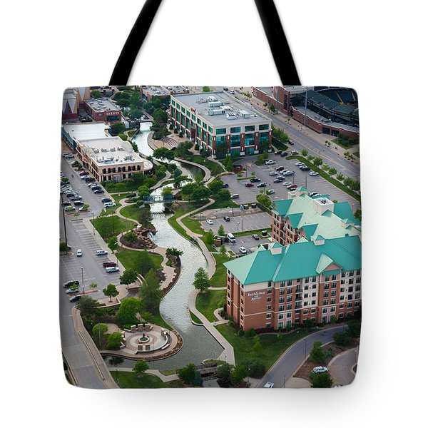 Bricktown Ballpark C Tote Bag by Cooper Ross