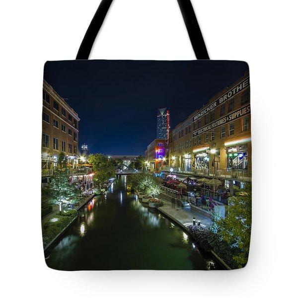 Bricktown Canal Tote Bag