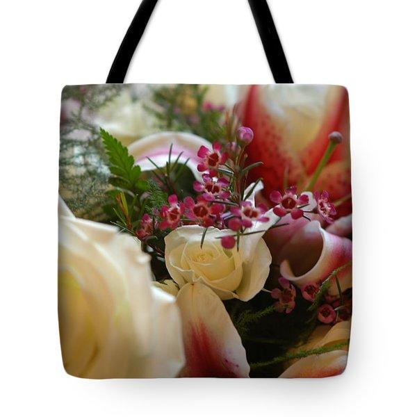 Bridal Flowers Tote Bag