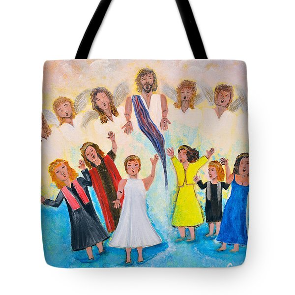 Bridal Invitation Tote Bag by Cassie Sears