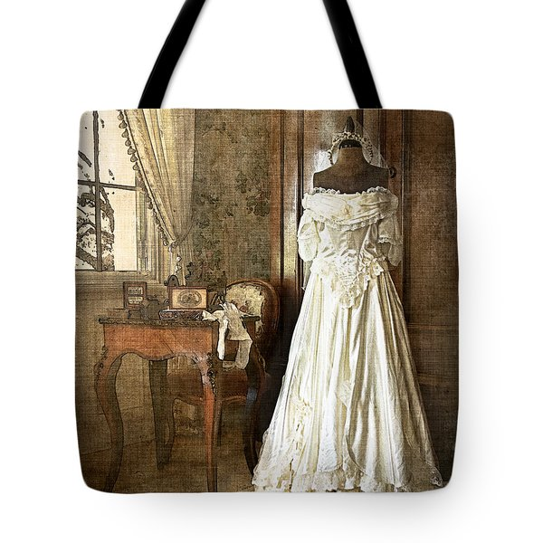 Bridal Trousseau Tote Bag by William Beuther