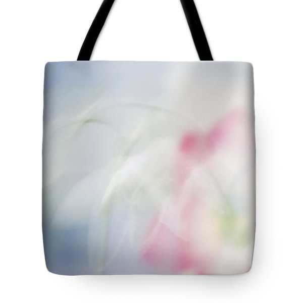 Tote Bag featuring the photograph Bridal Veil by Annie Snel