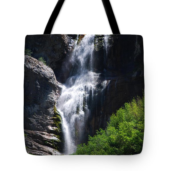 #bridalveilfalls Tote Bag by Becky Furgason