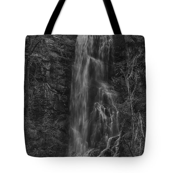 Bridal Veil Falls At Spearfish Canyon South Dakota Tote Bag