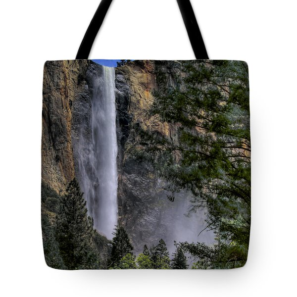 Bridalveil Falls Tote Bag by Bill Gallagher