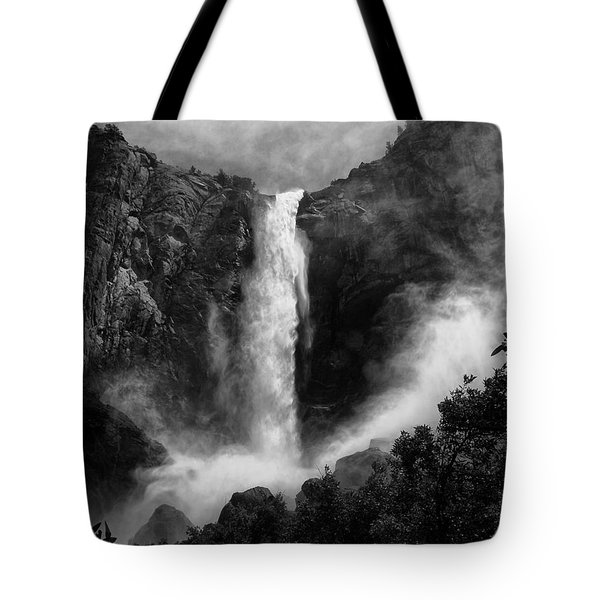 Bridalveil Falls Tote Bag by Cat Connor