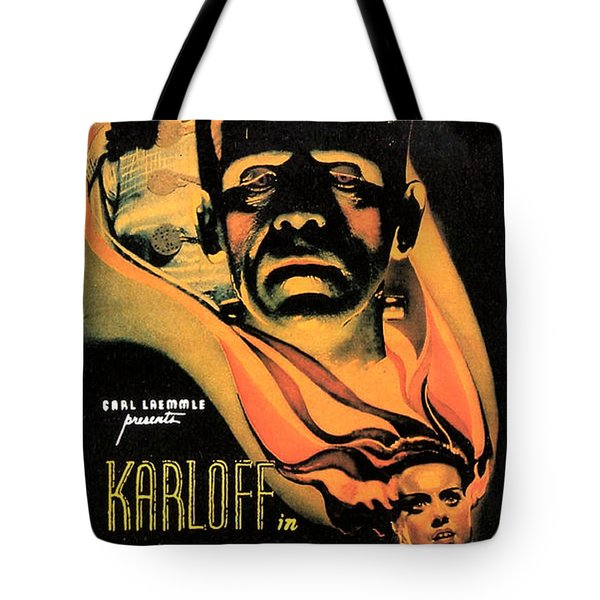 Bride Of Frankenstein Tote Bag by Studio Release