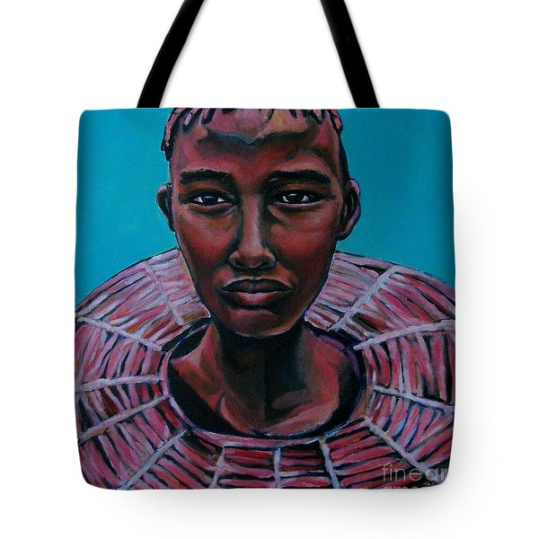 Bride - Portrait African Tote Bag