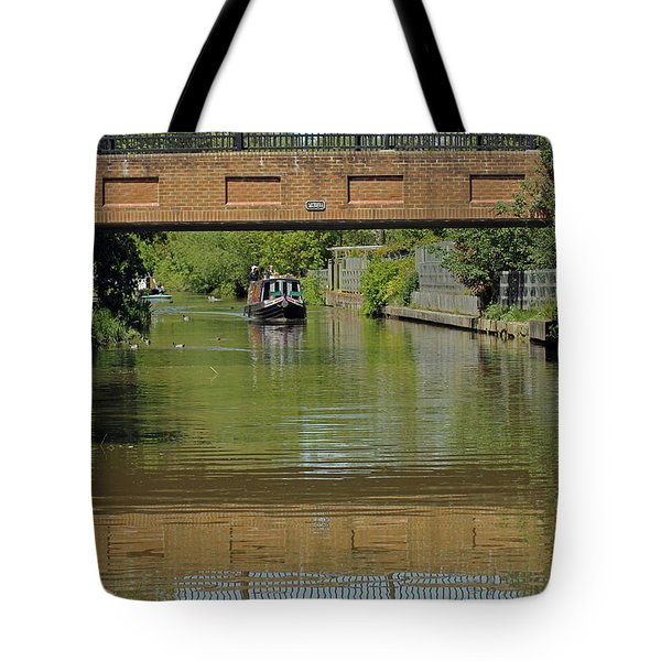 Bridge 238b Oxford Canal Tote Bag